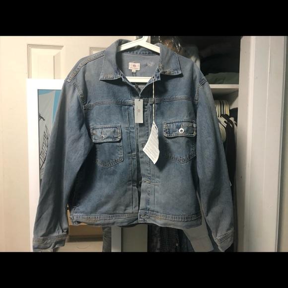 Ag Adriano Goldschmied Jackets & Blazers - adriano goldschmied jean jacket